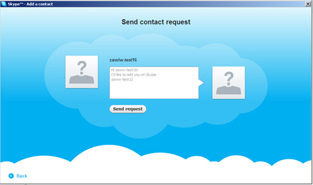 how to add a contact on new skype